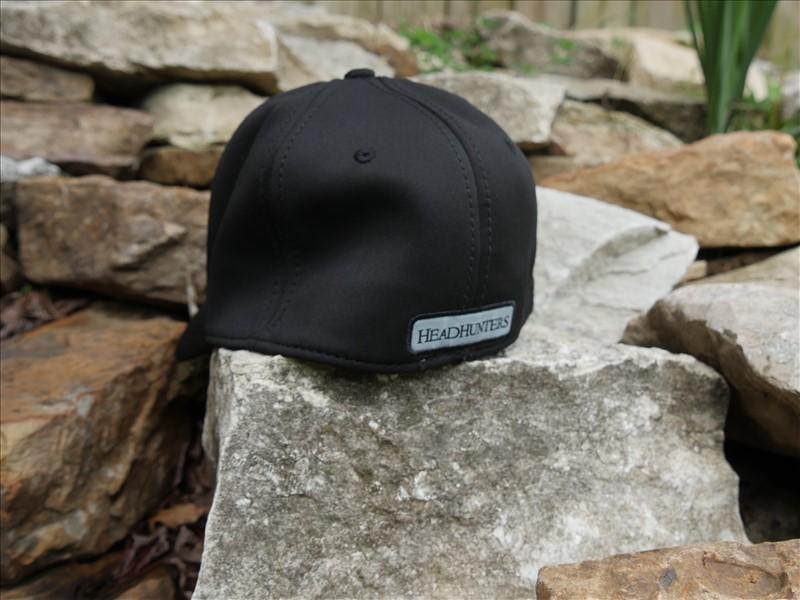 HEADHUNTERS BLACK FITTED HAT  231f5c361ea