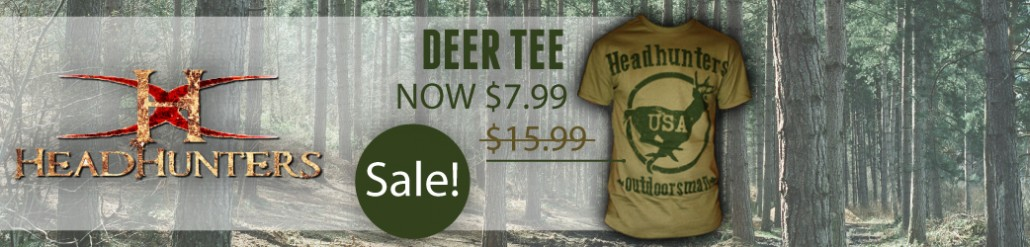 Head Hunters Deer Tee